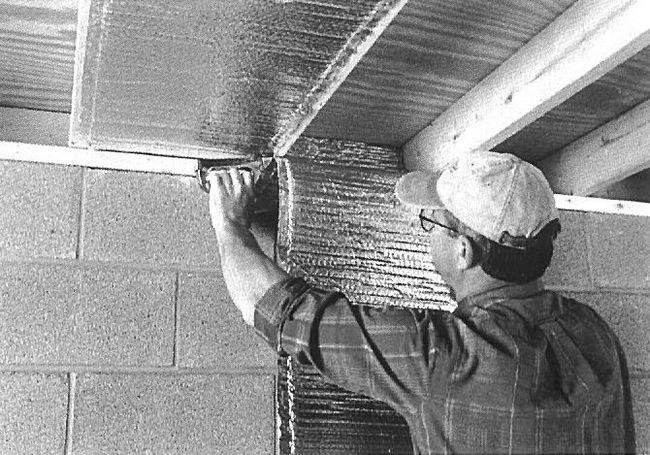cea mai bună izolare fonică a plafonului