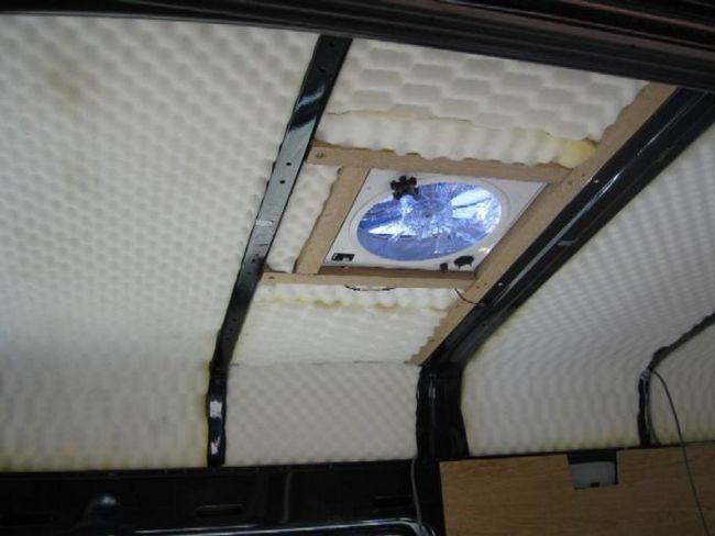 plafon izolație fonică în recenziile apartamentului