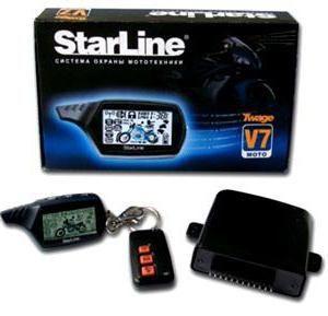 Semnalizarea unei motociclete cu feedback cu privire la exemplul Starline Twage Moto v7