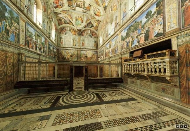 Capela Sistinei - cel mai mare monument al arhitecturii și picturii