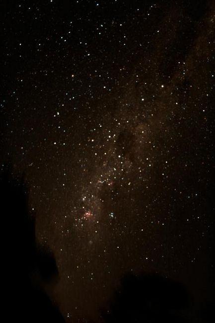 sub constelația Crucii de Sud