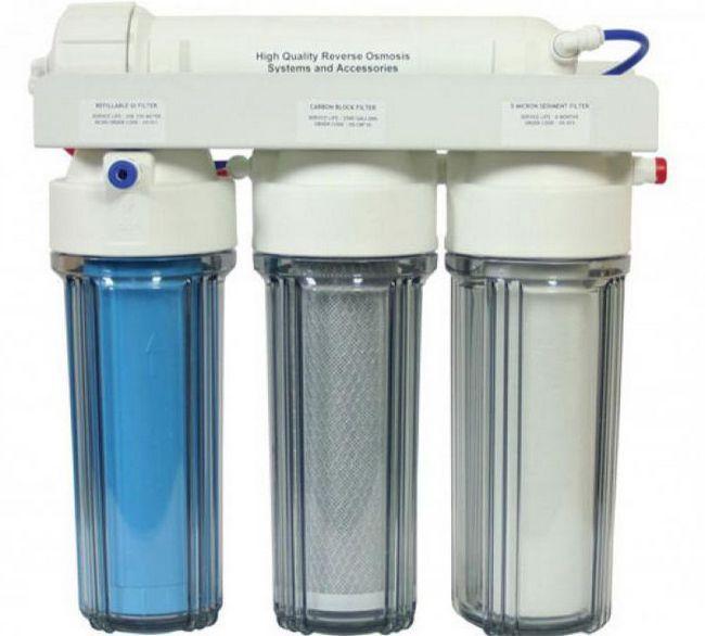 sistem de tratare a apei din casă