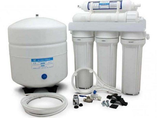 sistemul de purificare a apei