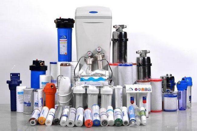 filtre pentru tratarea apei într-o casă privată cum să alegi