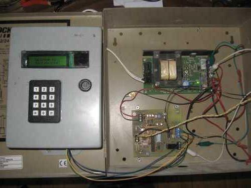 instalarea sistemului de control al accesului