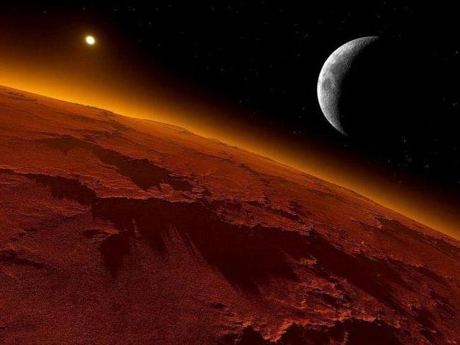 zi pe Marte în ore