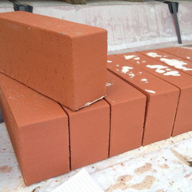 Cât de multe cărămizi sunt roșii solide de culoare roșie