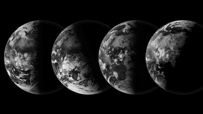 Schimbarea anotimpurilor are loc pentru o revoluție a pământului în jurul soarelui