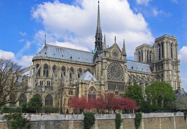 Catedrala Maicii Domnului din Paris Descriere