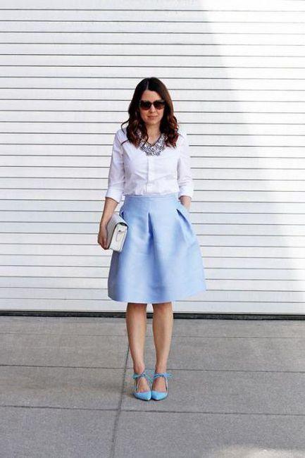 combinație de culori cu albastru