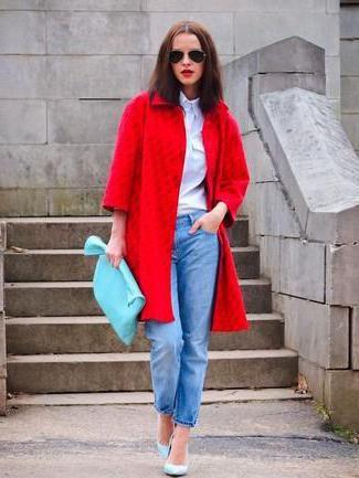 combinație de albastru în haine