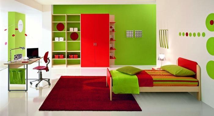 combinație de culori în designul bucătăriei