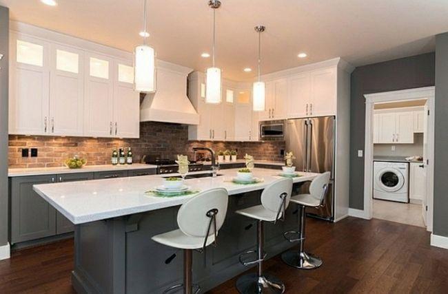 O combinație de culori în interiorul bucătăriei. Fotografii de modele frumoase, cu o combinație armonioasă de nuanțe