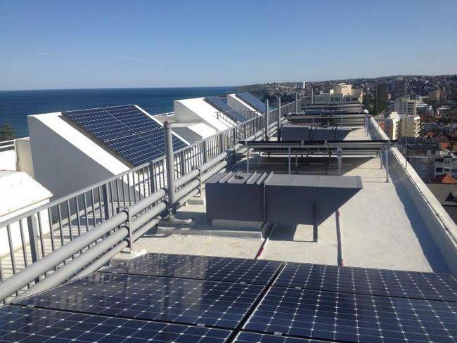 комплект солнечных батарей для квартиры