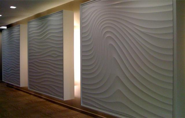 materiale moderne pentru decorarea pereților