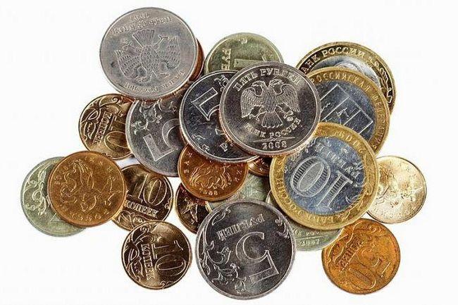 banii monedei rusești