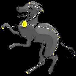 constelația unui câine