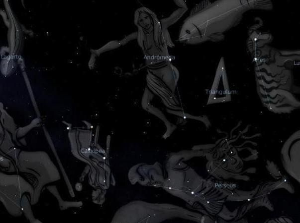 constelații ale cerului toamnei