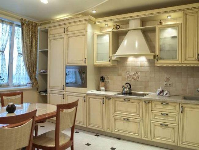 Profil pentru fațade de sticlă de bucătărie