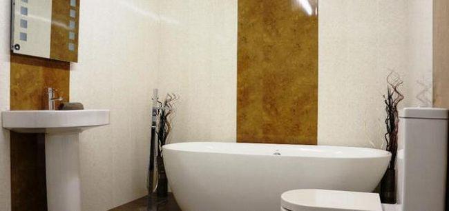 panouri de perete rezistente la umiditate pentru baie