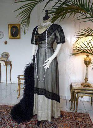 стиль модерн в одежде 19 века