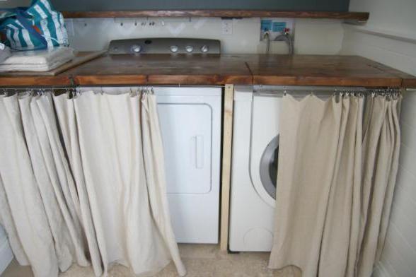 встроенные стиральные машины под столешницу