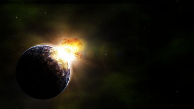 coliziune a planetelor