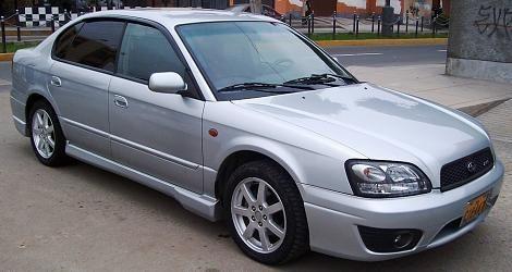 Subaru Legacy B4 - cartea Subaru