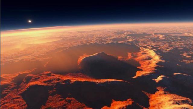Marte din spațiu