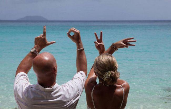 Nunta pe insule: fotografie, organizare, recenzii