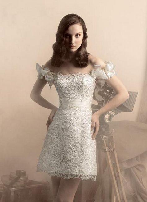 белые свадебные платья Papilio