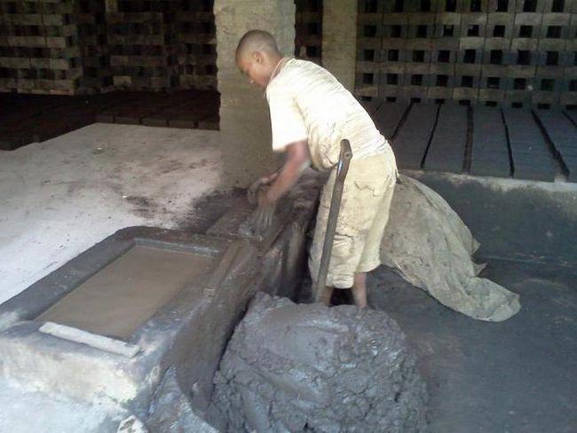 tehnologie de producție de cărămidă brută