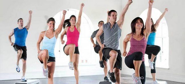 Dans aerobic: tipuri și tehnici