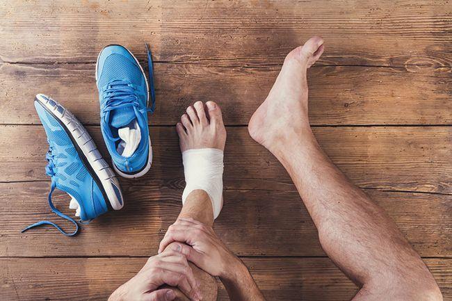 consecință a unei vătămări sportive