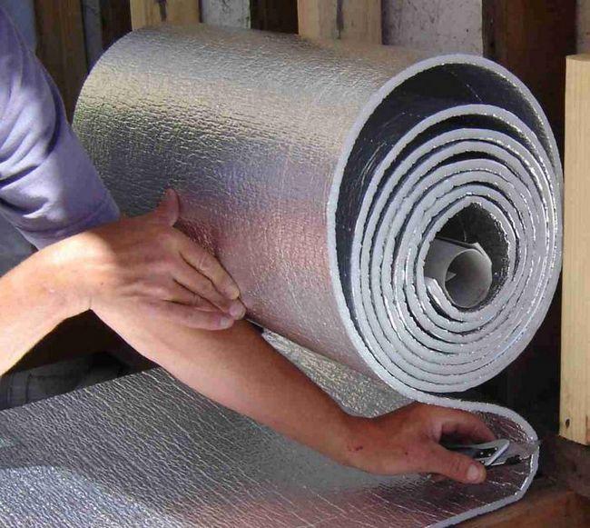 izolație termică pentru podeaua de apă