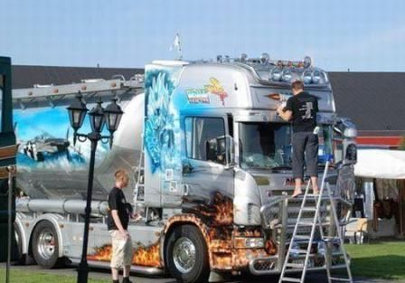 tuning camioane fotografie