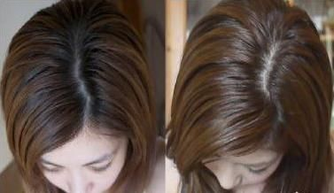 toning fotografie de păr