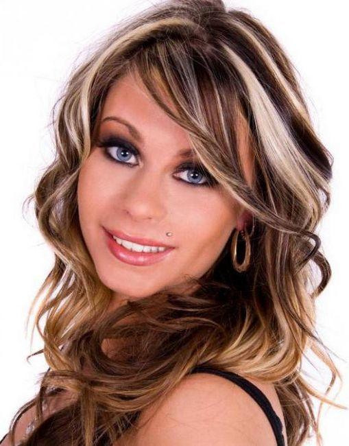 tonifierea și evidențierea fotografiei părului