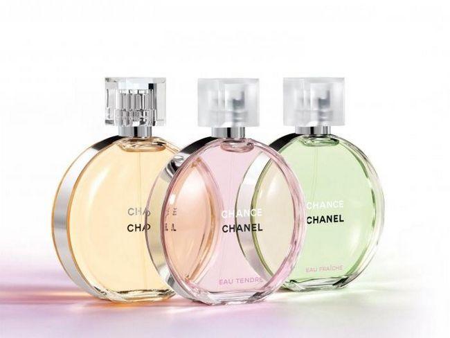 Trei zâmbete de Fortune de la `Chanel Chance`