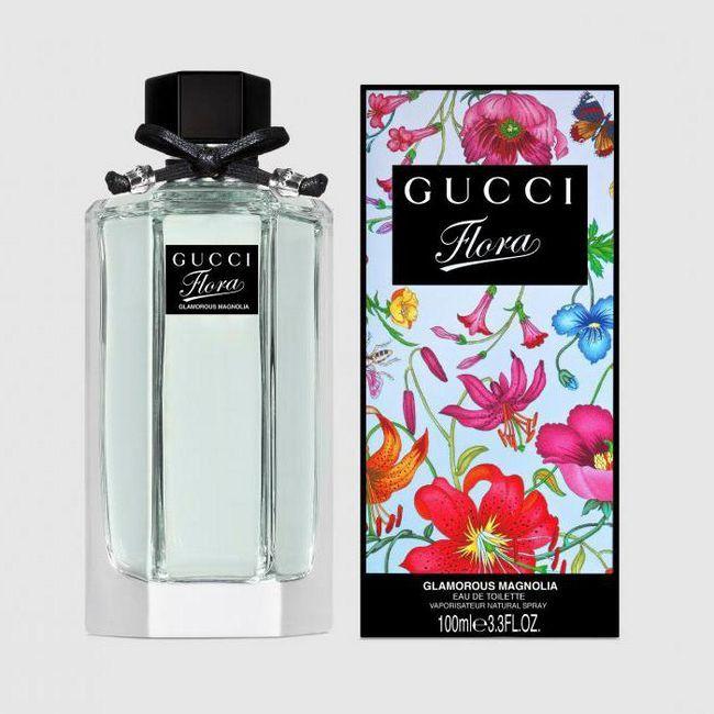 fotografie de apă de toaletă din flora Gucci