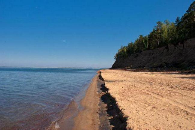 Nisipurile de Aur din Regiunea Irkutsk Foto