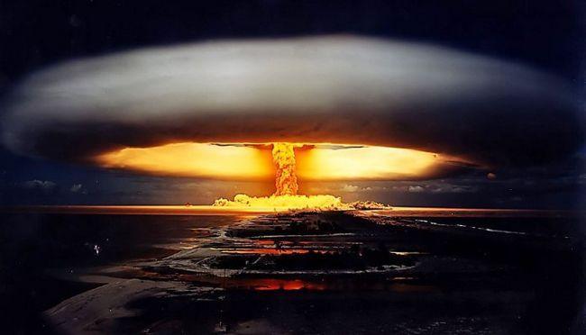 Val de șoc al exploziei nucleare