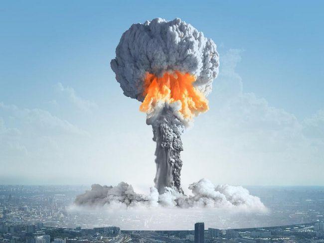 Poluarea aerului în momentul exploziei