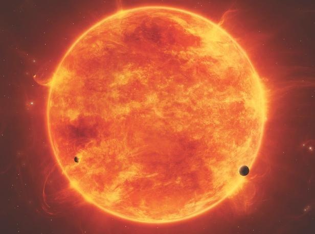 stelele care sunt mai mici decât soarele