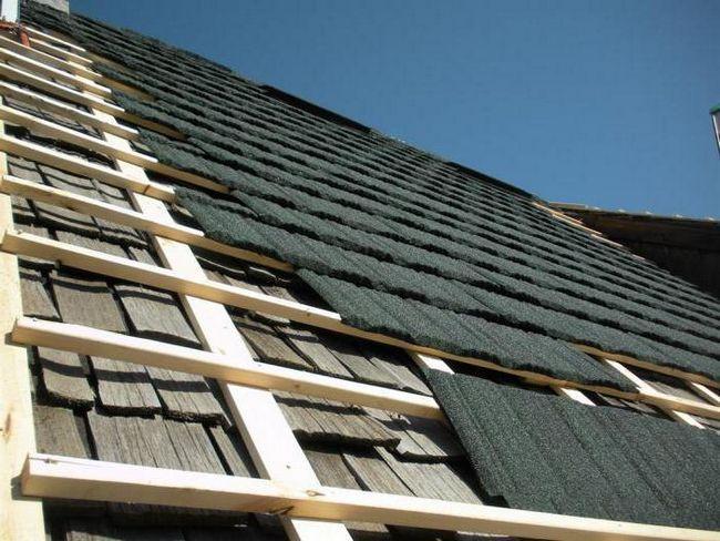 acoperiș acoperiș instalație
