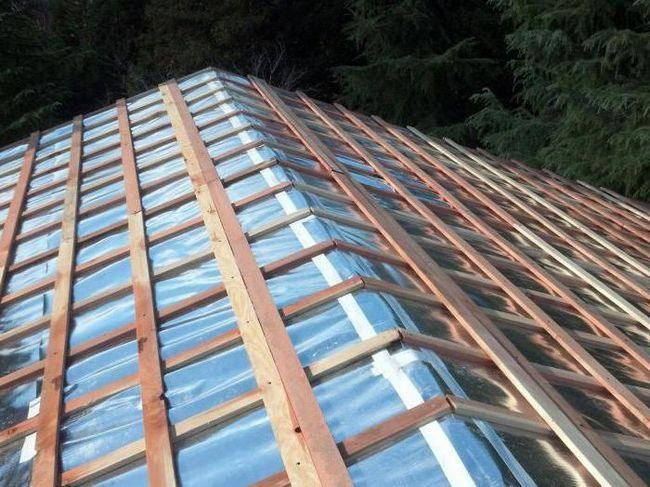 instalarea acoperișului acoperișului