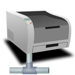 Instalarea unei imprimante de rețea ca element de rețea separat