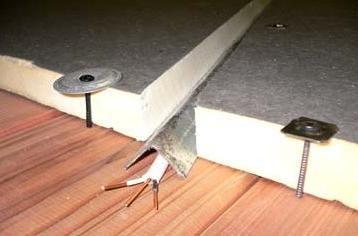 izolați acoperișul