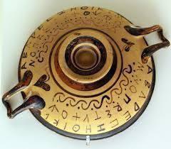 literele alfabetului antic