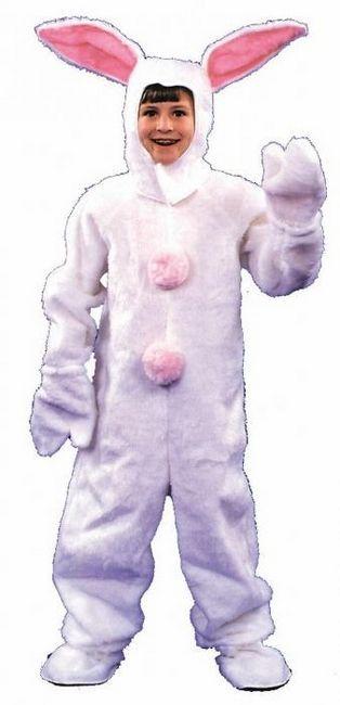 În Anul Nou, pentru a râde, coasem cu un copil un costum de iepure!